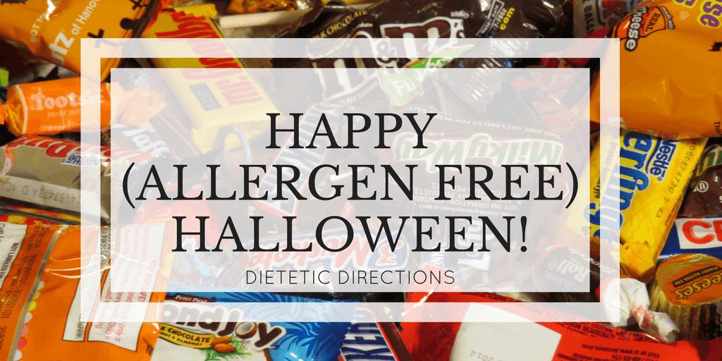 Allergen free Halloween