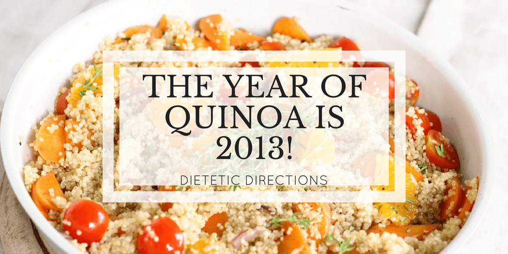 2013 The Year of Quinoa