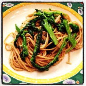 Rapini spaghetti