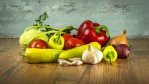 Vegetables inulin
