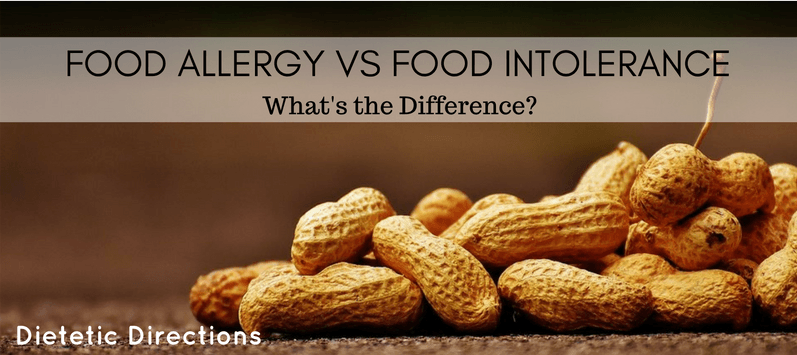 food allergy food intolerance difference peanuts