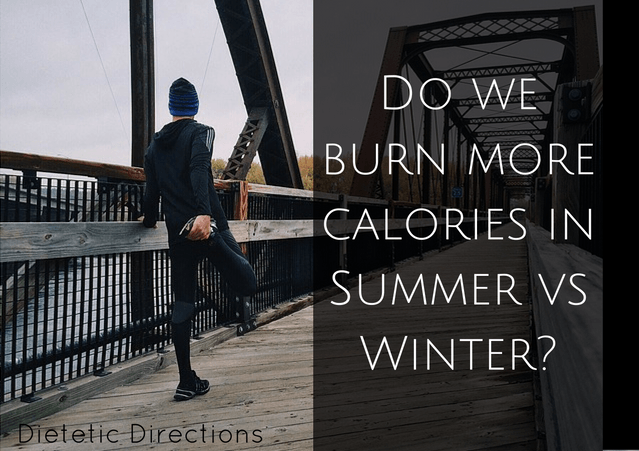 burn calories summer winter