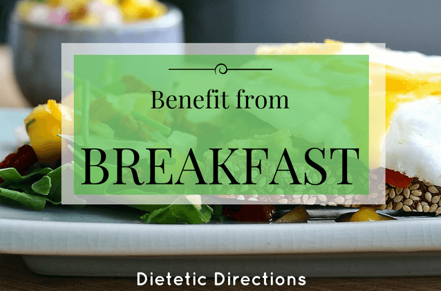 Benefit from Breakfast