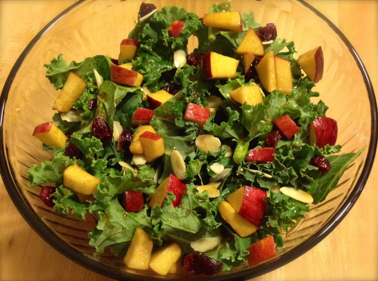 Andrea D'Ambrosio dietitian recipe apple maple salad