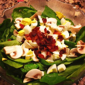 spinach salad recipe Dietitian