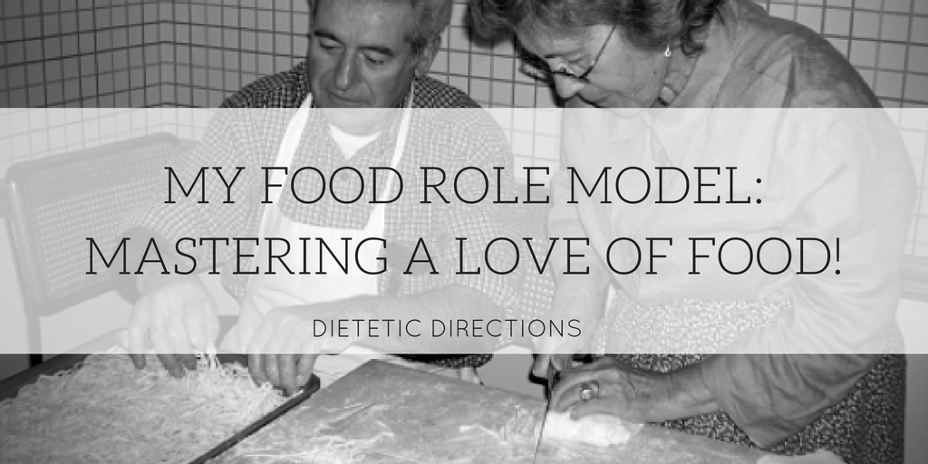 My Food Role Model: Mastering a Love of Food