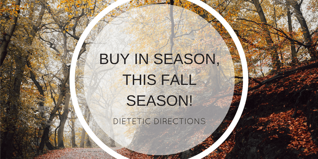 Buy in season this fall season