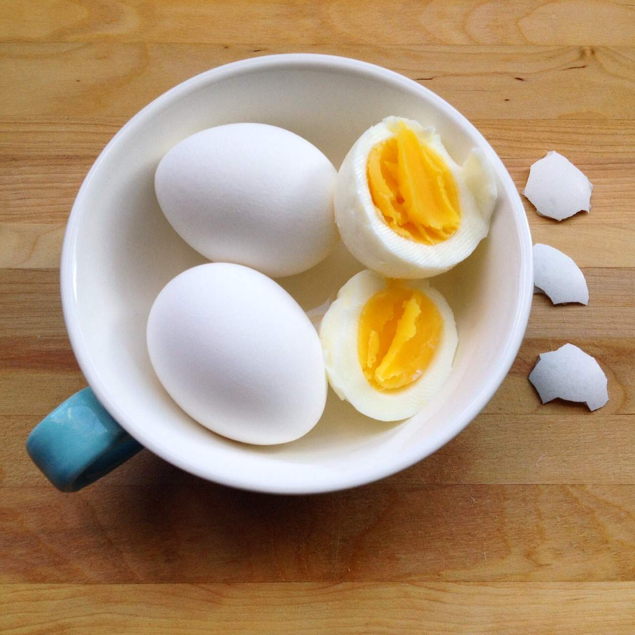 Hard boiled egg perfection recipe