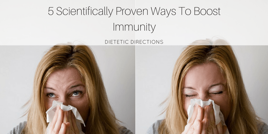 5 Scientifically Proven Ways to Boost Immunity