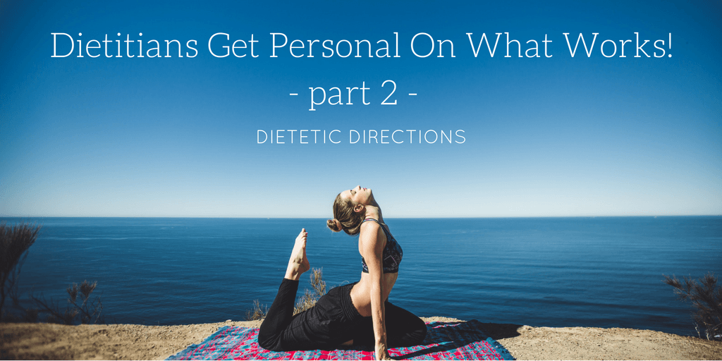 Dietitians Get Personal On What Works