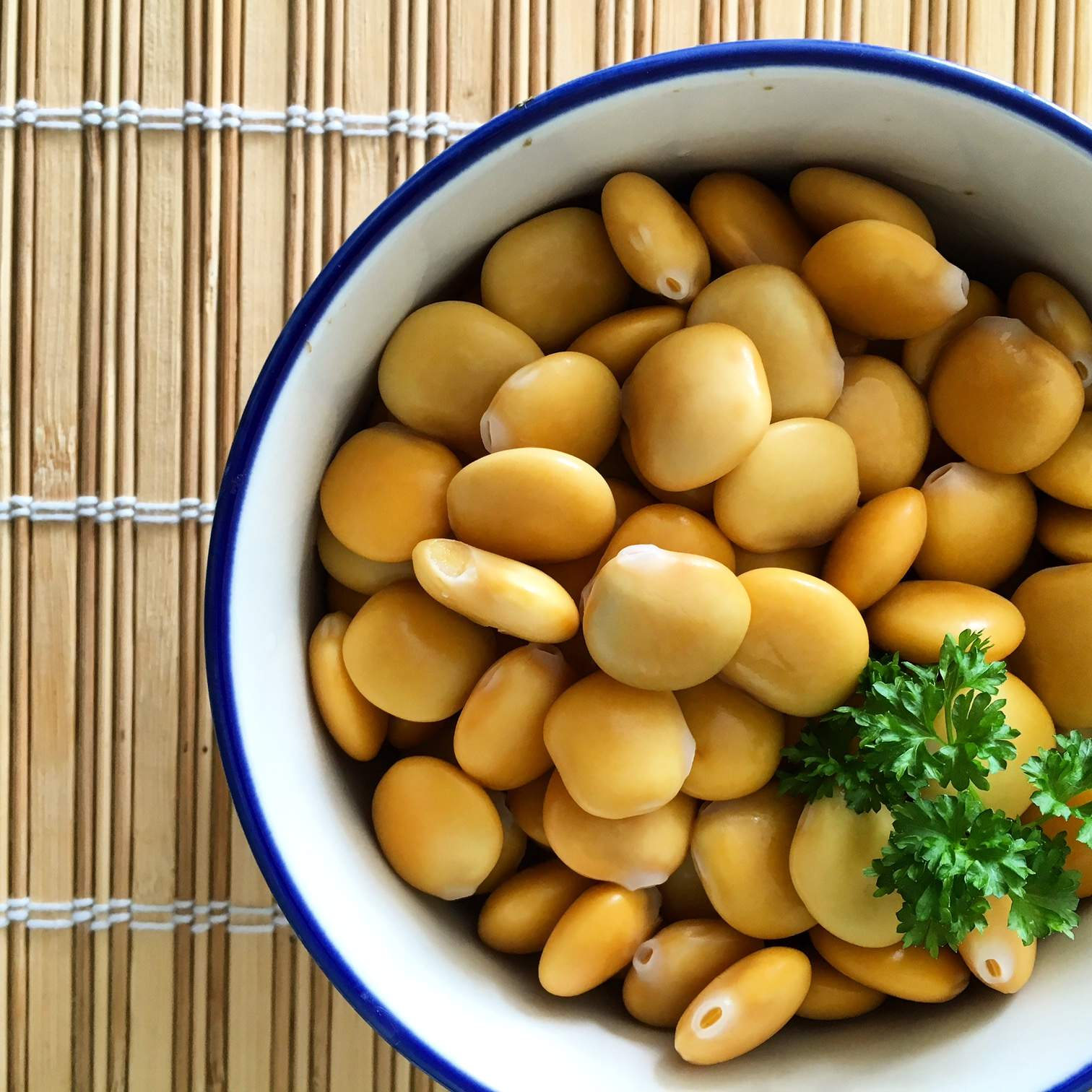how to eat lupini beans