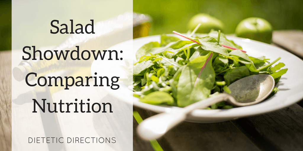 Salad Showdown: Comparing Nutrition