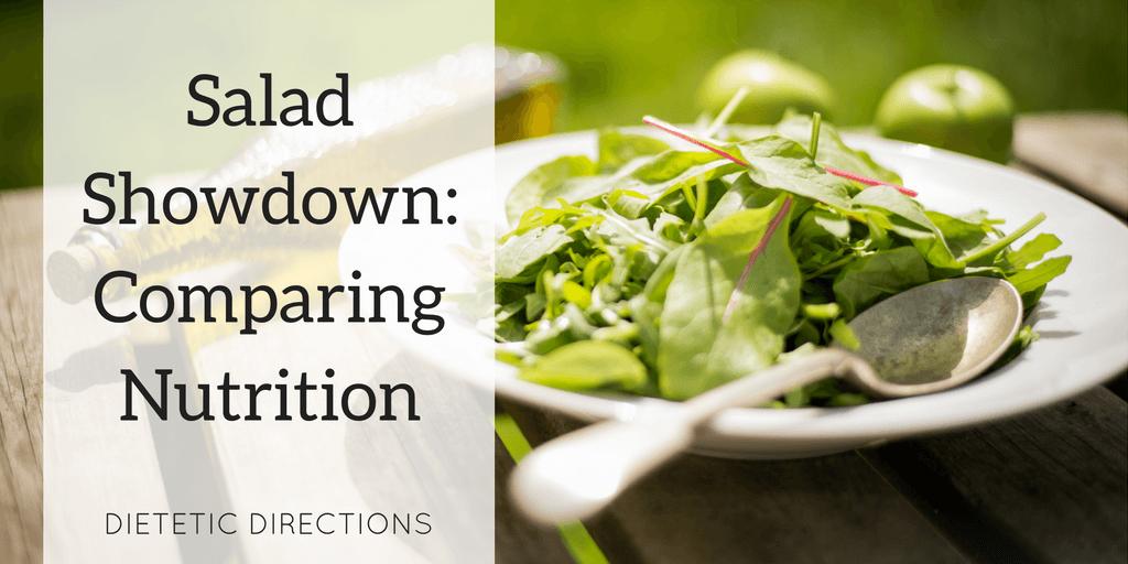 Salad Showdown: Comparing Nutrition