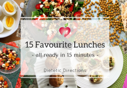 15 Favourite Packed Lunches (ready in 15 minutes)
