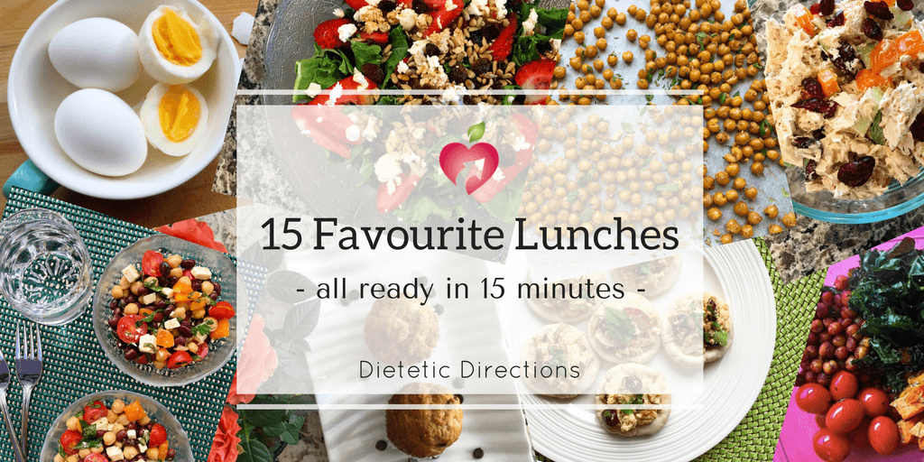 15 favourite lunches