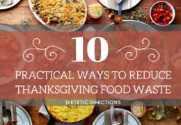 10 Practical ways to Reduce Thanksgiving Food Waste