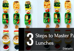 3 Steps to Master Packed Lunches