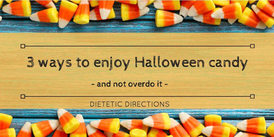 3 ways to enjoy halloween candy