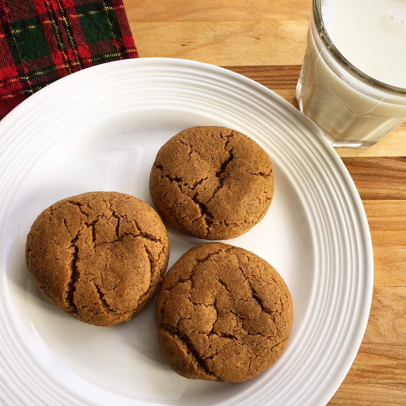 Chewy Gingersnap Cookies {Recipe Redux} - Dietetic Directions ...