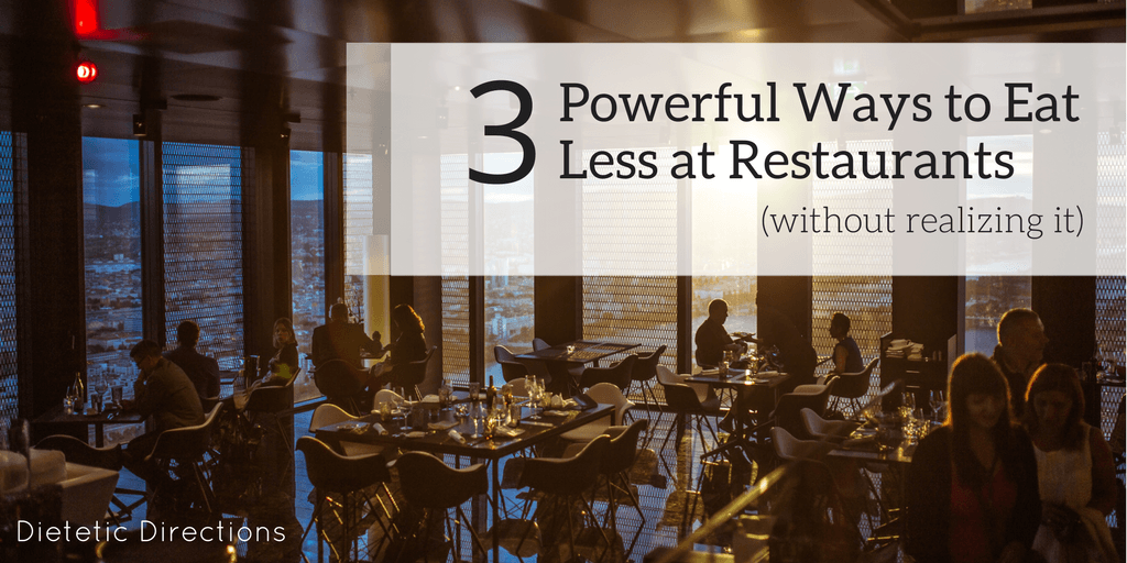 3 Powerful ways to less at restaurants