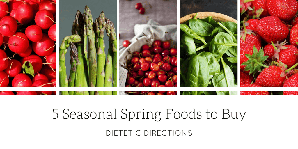 5 Seasonal Spring Foods to Buy