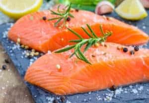 salmon mood food