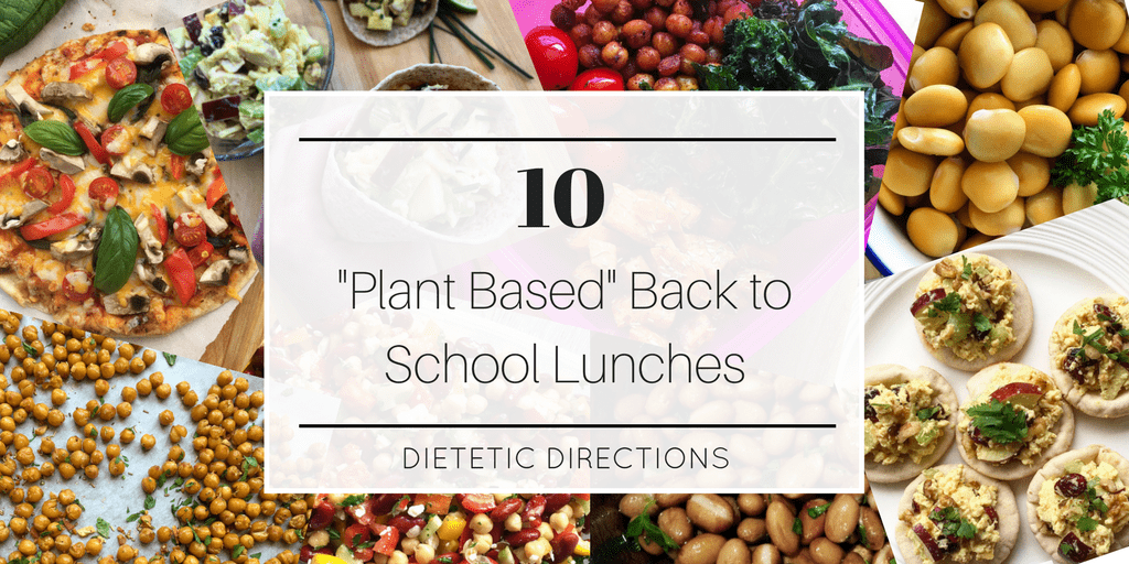Plant based lunches