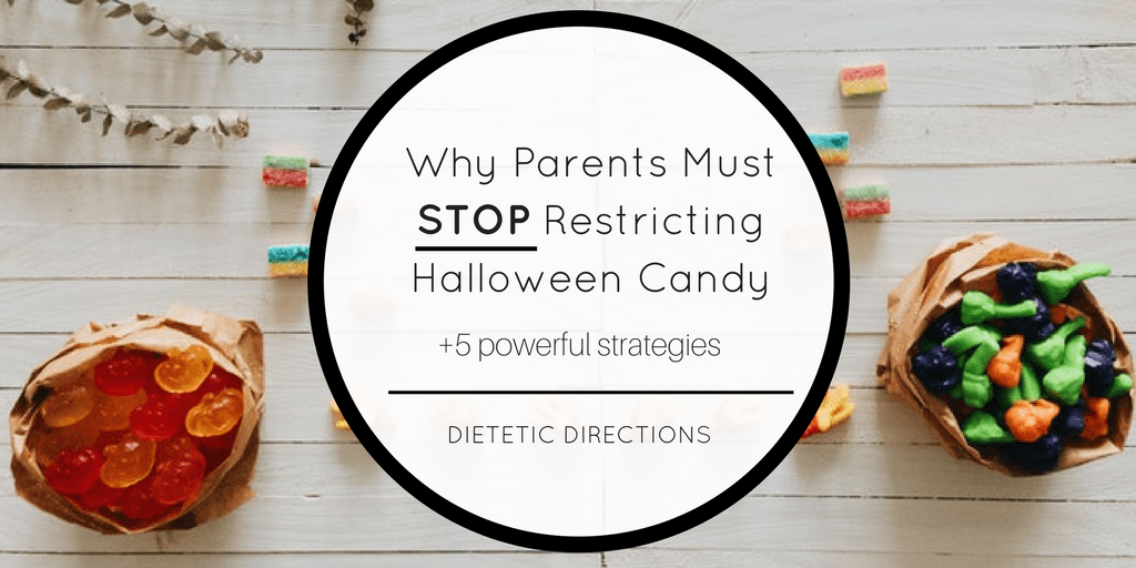 Why Parents Must STOP Restricting Halloween Candy