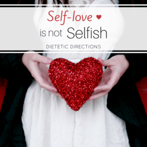 self love is not selfish