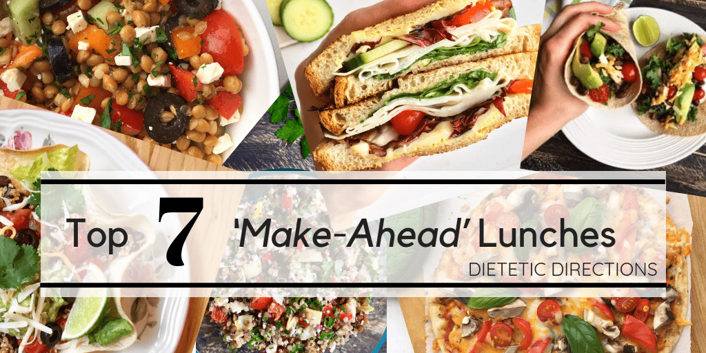 Top 7 'Make-Ahead' Lunches