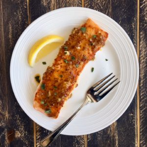 Maple Dijon Salmon