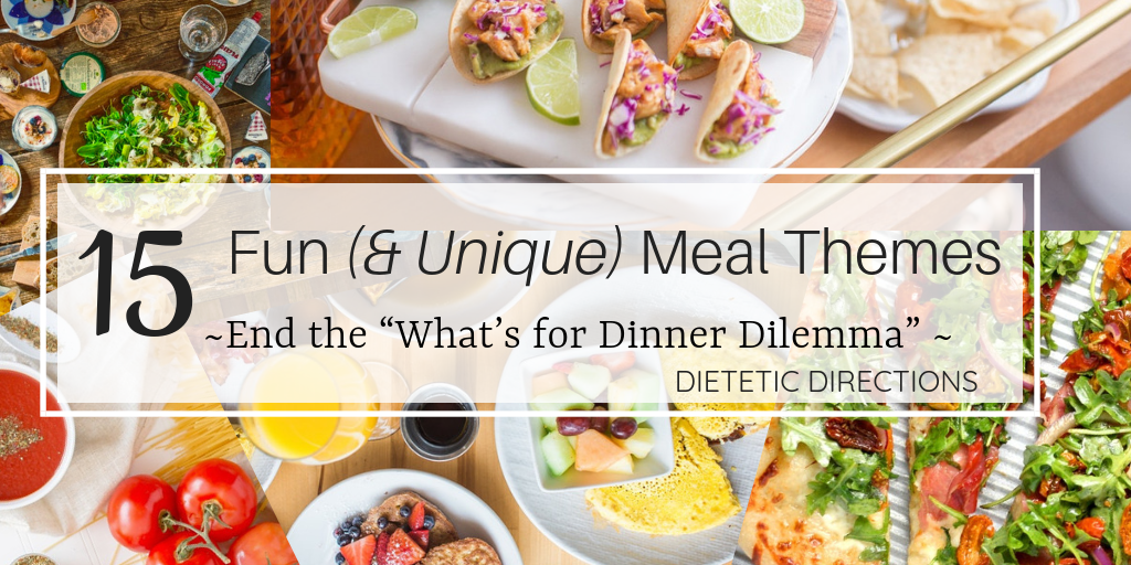 15 Meal themes