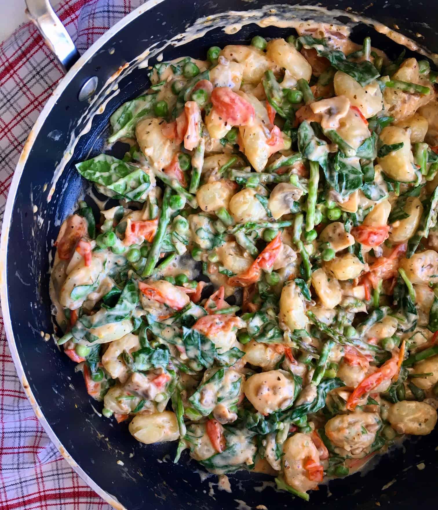 Spring Fresh Veggie Gnocchi