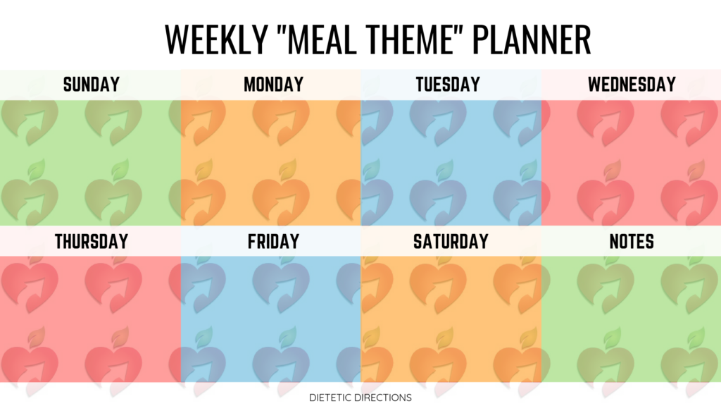Meal plan planning grocery groceries planner healthy nutritious easy tasty delicious yummy meals tips ideas setting goal goals tips leftover leftovers