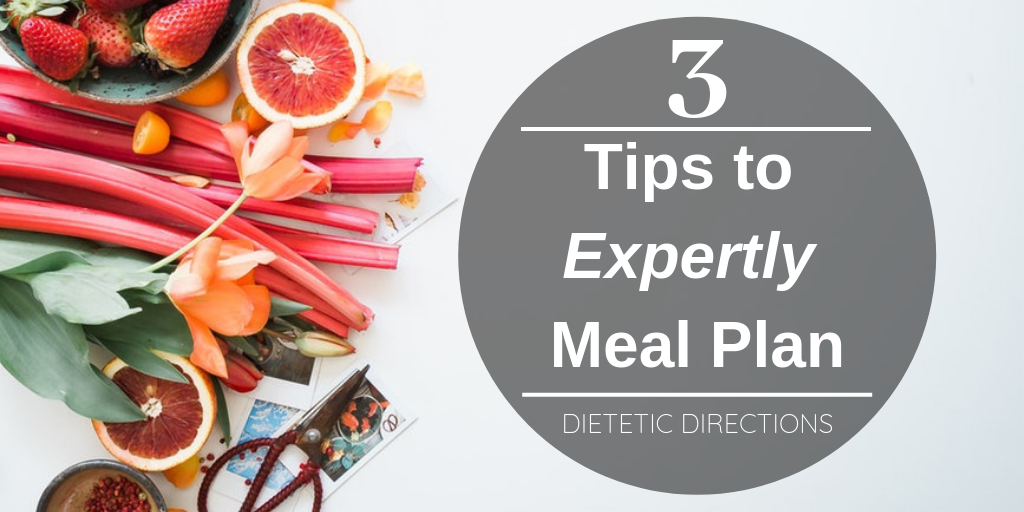 Tips to Expertly meal plan Dietitian