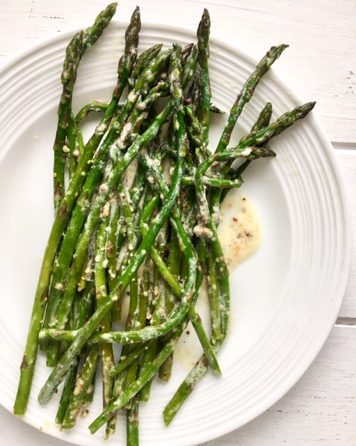 Dijon Cream Asparagus {3-Ingredient}