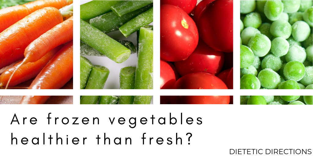 Are Frozen Vegetables Healthier?