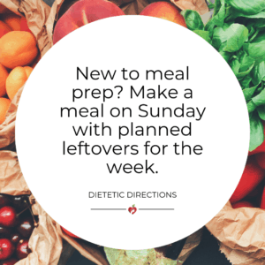 Meal Prep tip for lunches