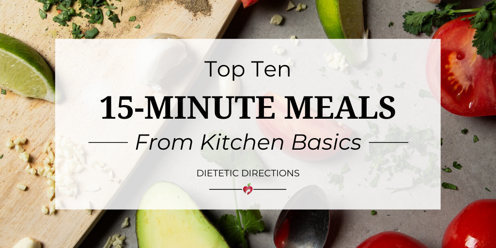 15-Minute Meals